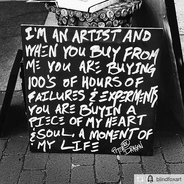 "Repost from @blindfoxart ""I post this every once in a while because I think it's important for people to realize how much time and love is put into hand crafted products."" #craftsmanunion image"